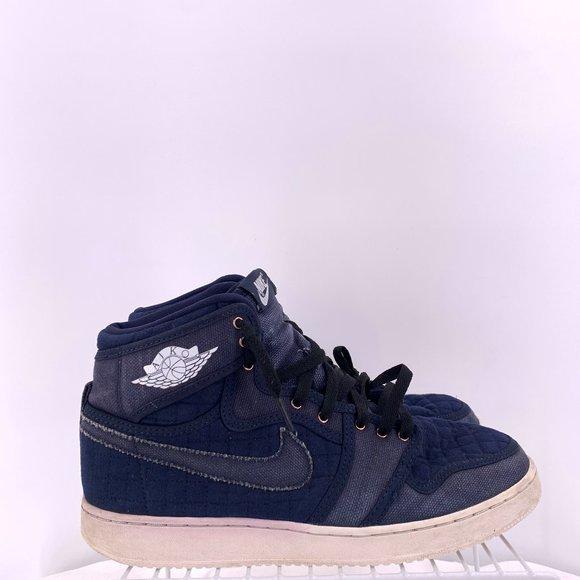 Nike Air Jordan Retro Ajko Blue Quilted